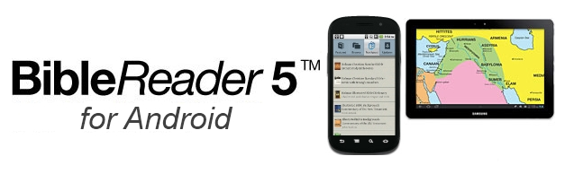 BibleReader 5 available for Android