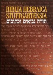 BHS - Biblia Hebraica Stuttgartensia