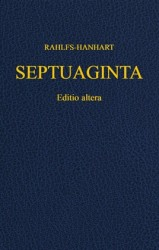 LXX (Septuaginta) Greek Old Testament