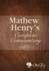 Matthew Henry's Complete Commentary on the Whole Bible