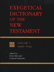 EDNT (Eerdman's Exegetical Dictionary of the New Testament…