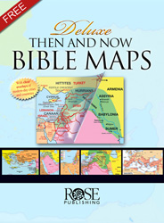 Bible Maps - Then and Now - Free Sample