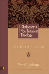 New International Dictionary of New Testament Theology: Abridged Edition