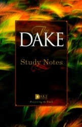 Dake Study Bible Notes