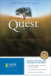 Quest Study Bible Notes: The Question and Answer Bible