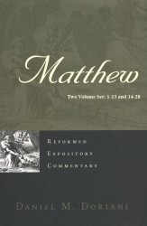 Matthew Two Volume Set - Reformed Expository Commentaries