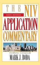 NIV Application Commentary Haggai, Zechariah