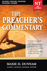 The Preacher's Commentary - Volume 31: Galatians / Ephesia…