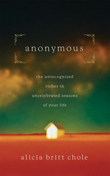 Anonymous: Jesus' hidden years...and yours