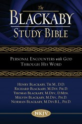 Blackaby Study Bible Notes: Personal Encounters with God T…
