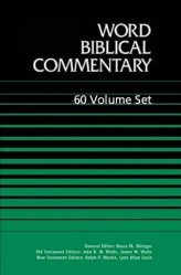 Word Biblical Commentary (WBC) 60 Vols.