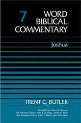 Word Biblical Commentary: Volume 7: Joshua (WBC)