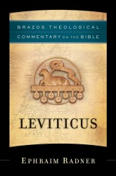 Brazos Theological Commentary: Leviticus
