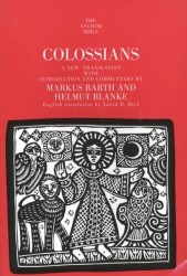 Anchor Yale Bible Commentary: Colossians