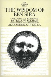 Anchor Yale Bible Commentary: Wisdom of Ben Sira