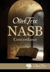 Olive Tree NASB Concordance with NASB (Englishman