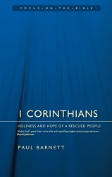 1 Corinthians: Holiness and Hope of a Rescued People - Focus on the Bible Commentary