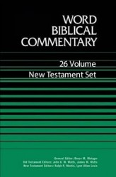 Word  Biblical Commentary (WBC): New Testament Set (26 Vols.)