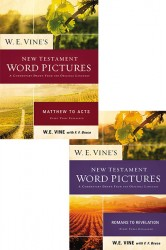 Vine's New Testament Word Pictures (2 Vols.)