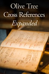 Olive Tree Cross References: Expanded Set