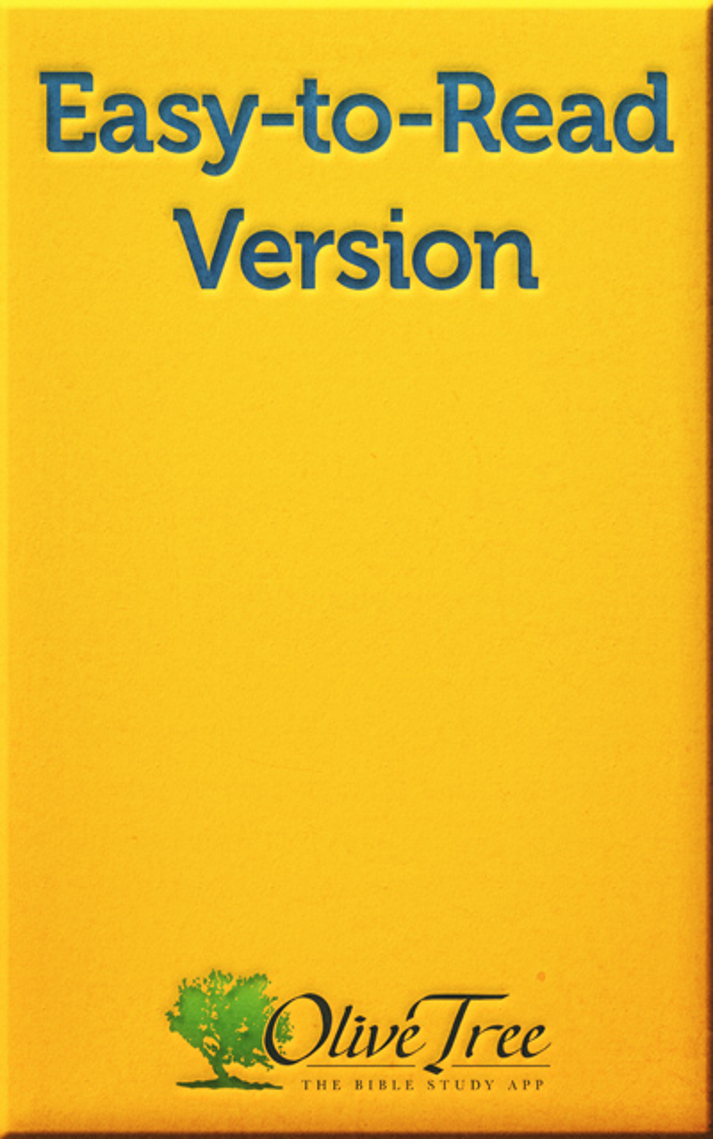 Easy-to-Read Version - ERV