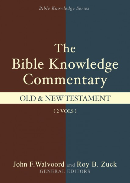 Bible Knowledge Commentary (2 Vols.)