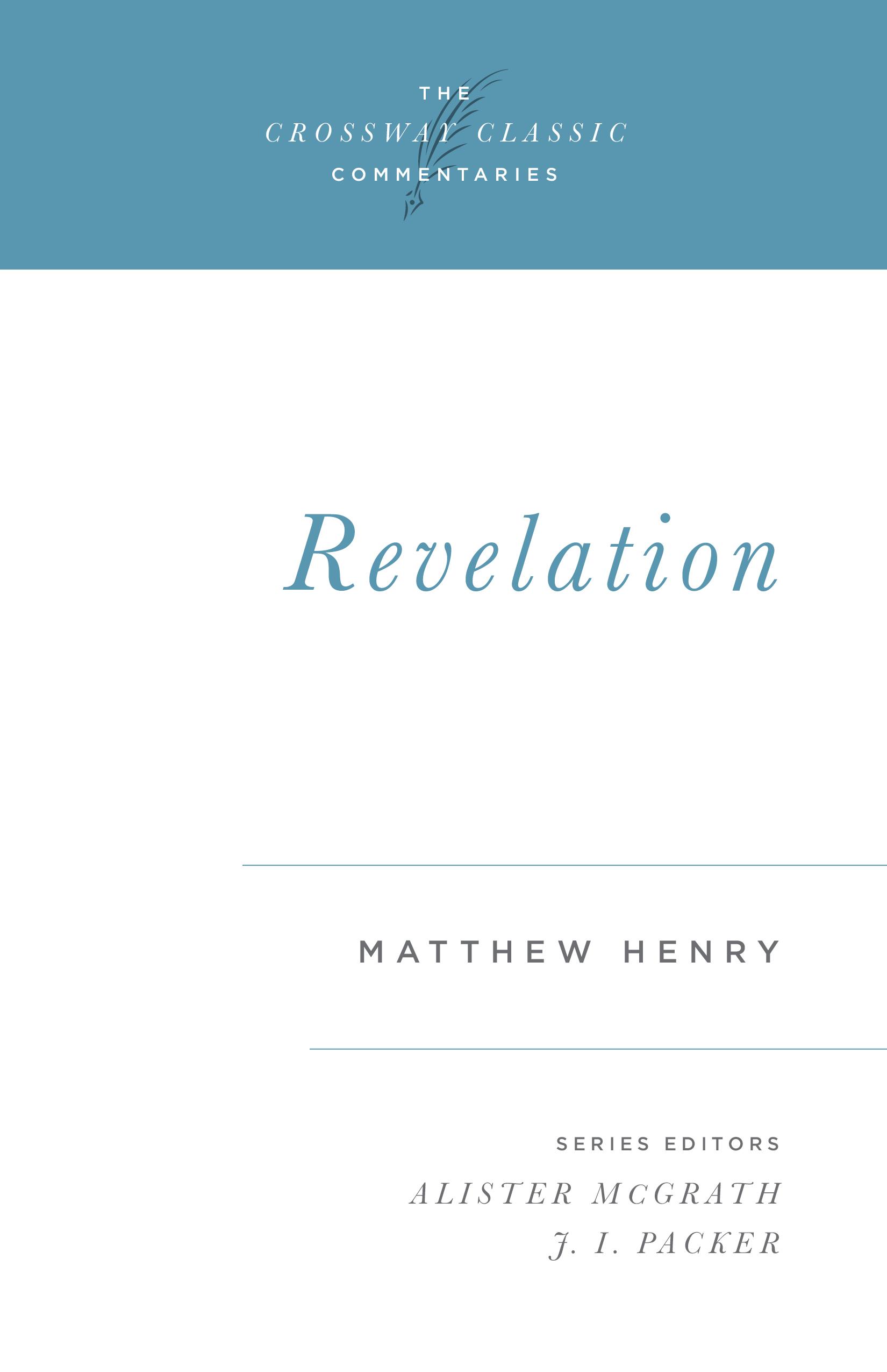 Crossway Classic Commentary - Revelation