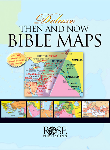 Bible Maps - Then and Now