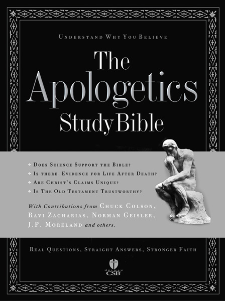 Apologetics Study Bible - Christianbook.com