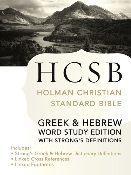 Holman Christian Standard Bible with Strong