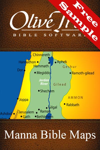 Manna Bible Maps - Free Sample