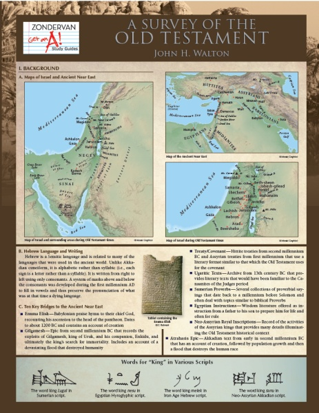 Study Guide: Survey of the Old Testament