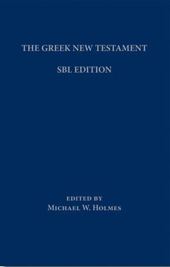 Greek New Testament: SBL Edition