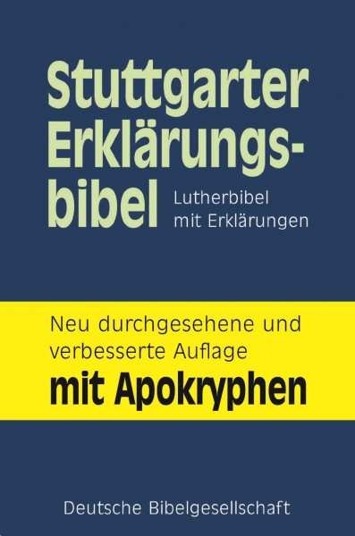 Study Notes from Stuttgarter Erklärungsbibel (Luther Bibl…