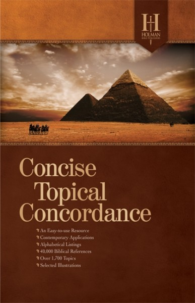 Holman Concise Topical Concordance