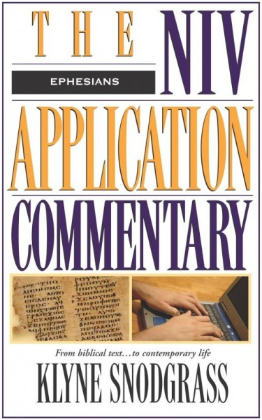 NIV Application Commentary Ephesians