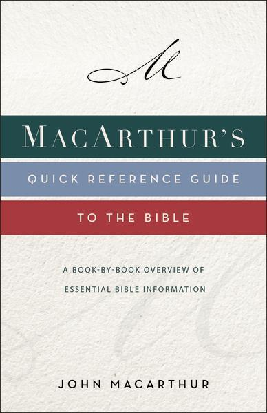 MacArthur's Quick Reference Guide