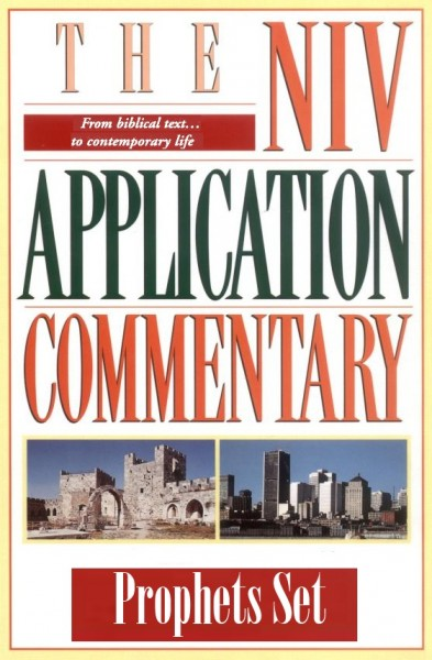 NIV Application Commentary Prophets Set (8 Vols.)