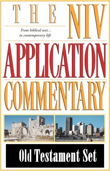 NIV Application Commentary Old Testament Set