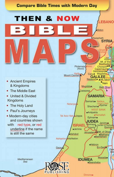Then and Now Bible Maps Essentials