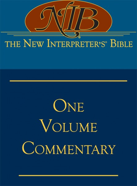New Interpreter's One Volume Commentary