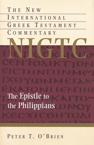 New International Greek Testament Commentary Series: The Epistle to the Philippians