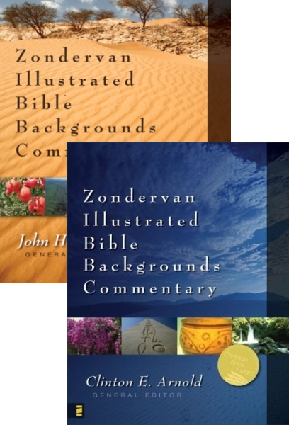 Illustrated Bible Backgrounds Commentary: Old and New Testament Bundle (9 Vol.)
