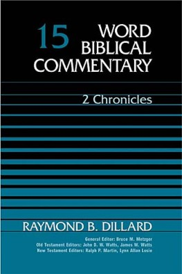 Word Biblical Commentary: Volume 15: 2 Chronicles (WBC)