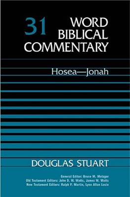 Word Biblical Commentary: Volume 31: Hosea-Jonah (WBC)