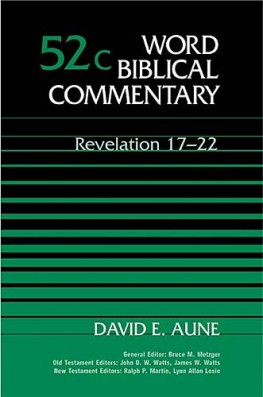 Word Biblical Commentary: Volume 52c: Revelation 17–22 (WBC)