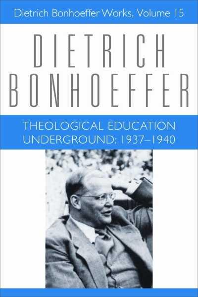 Theological Education Underground : 1937-1940