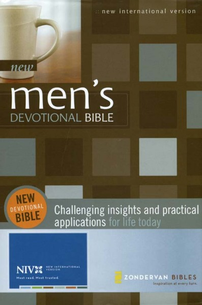 New Men's Devotional Bible with NIV