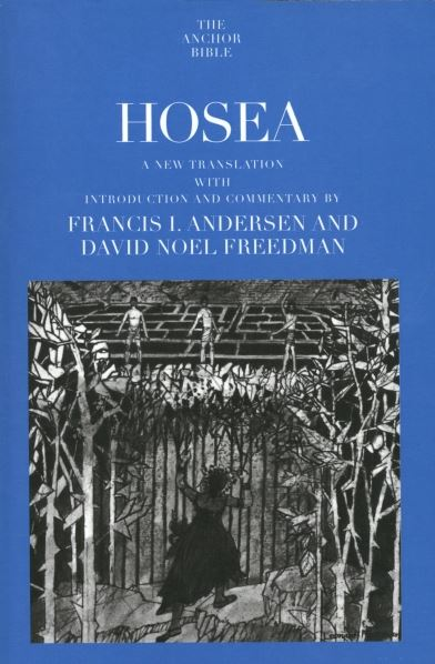 Anchor Yale Bible Commentary: Hosea