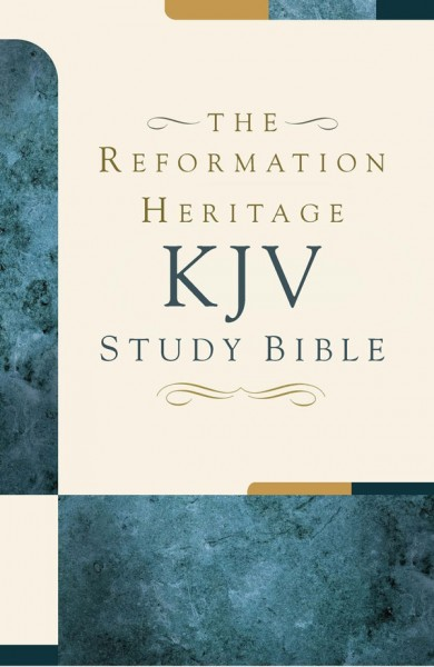 Reformation Heritage KJV Study Bible Notes